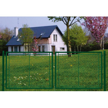 Garden Gate for Chainlink Fence